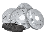 Drilled And Slotted Rotors Kits
